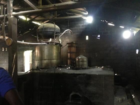 Rum Factory in Cabaret